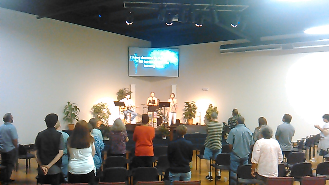 Calvary Chapel Fellowship Wichita Worship Banner