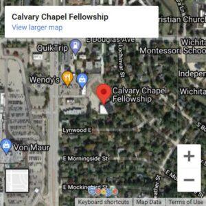 Calvary Chapel Fellowship East Wichita Google Map